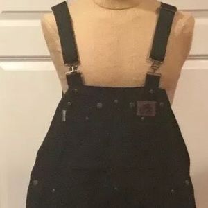 OLD MILL CANVAS LINED THINSULATE COVERALLS BIBS